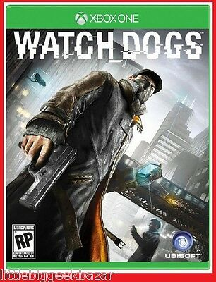 WATCH_DOGS  X-Box One Xbox Microsoft Jeu Video wathdog watchdogs
