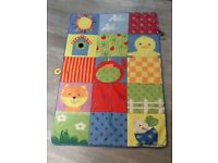 Mothercare padded baby/toddler playmat