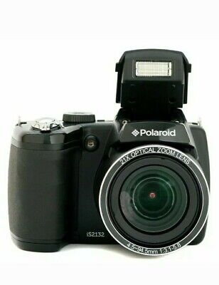 Polaroid iS2132 16.0MP Digital Camera - Black (IS2132-BLACK) 84x optical zoomiS2