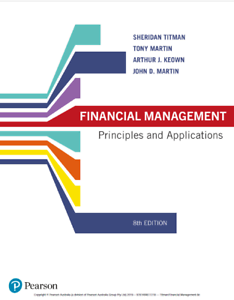 Financial Management Principles and Applications Titman 8th ed