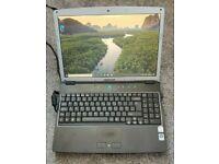 Medion MD96623 WIM2140 15.4'' Dual Core SSD Laptop Win 10 Webcam DVD-RW Cheap