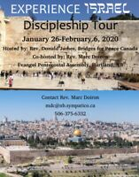 ISRAEL Tour January 26-February 6, 2020