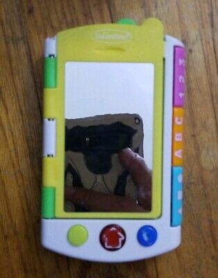 INFANTINO Interactive learning ABC 123 Mirror & book camera & cell phone sounds