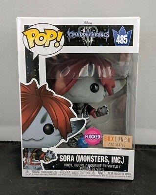5e748518511 Funko Pop! Kingdom Hearts - Sora Monster s Inc FLOCKED (Box Lunch Exclusive)