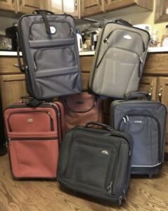 Luggage-Carry on sized suitcases