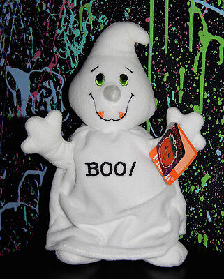 vintage 1996 HALLOWEEN GHOST FIESTA BRAND PLUSH boo ghosts stuffed toy friendly - Vintage Halloween Decorations Make