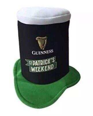 Guinness Beer St Patricks Day Hat Shamrock Party Mug Top Head Tall Hat (St Patricks Day Party)