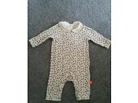 Girls floral romper age 0-3 little bird Jools Oliver. As new condition