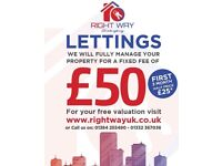 ***LANDLORDS WANTED***