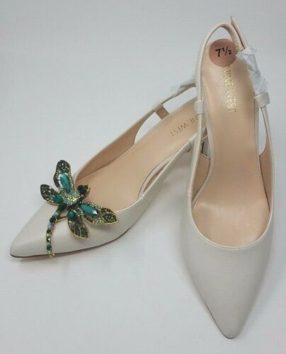 Dragonfly Green Color Shoe Clips 2pcs, Shoe Accessories