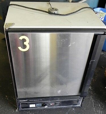 Precision Scientific Stg80 31478-24 Gravity Convection Oven Used Lab Laboratory