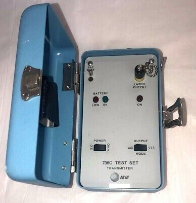 Att 736c Test Set Transmitter - Used