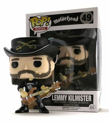Funko Pop! - Pop! Rocks - Motorhead - Lemmy Kilmister #49 -