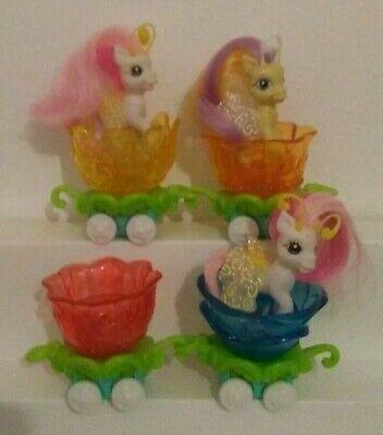 My Little Pony Crystal Princess: Breezies Parade w/ 4 Petal Cars & 3 Ponies
