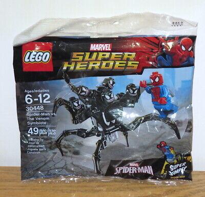 LEGO 30448 Super Heroes Spider-Man vs. The Venom Symbiote Polybag! Sealed!