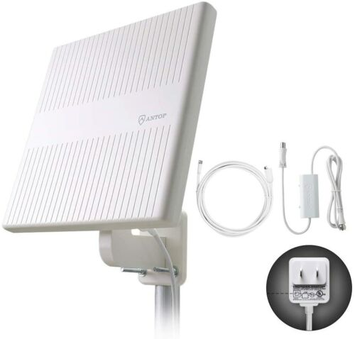 Antop AT-413B Outdoor Flat Panel HDTV Antenna with Omni-directional Reception