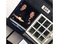 Bubbly bar and waiting staff needed