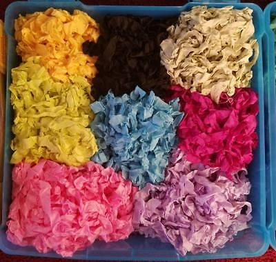 Hand Crinkled Seam Binding Ribbon-30 yards-10 Colors Mixed Lot Scrapbook -