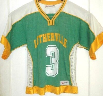 Vtg LUTHERVILLE LACROSSE Jersey LAX Baltimore MARYLAND Rare TEAM ISSUE Game  Worn 53461520d