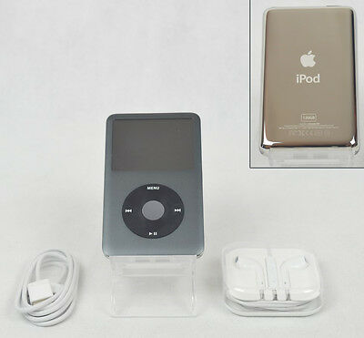 Apple iPod Classic 7th Generation Black (120 GB) (A1238) - MINT CONDITION Bundle