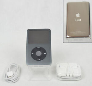 apple ipod classic 7th generation black 160 gb a1238. Black Bedroom Furniture Sets. Home Design Ideas