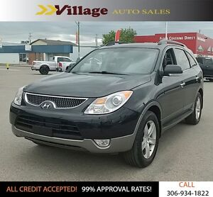 2008 Hyundai Veracruz GLS All Wheel Drive, Power Sunroof, Lea...