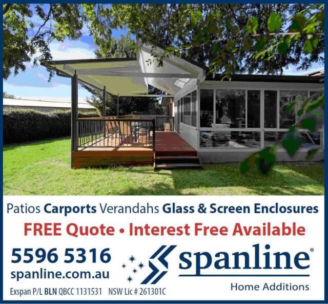 Patio Carport Pergola And Glass Enclosure Diy Kits Other Building Construction Gumtree Australia Logan Area Beenleigh 1158613617