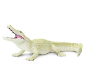 WHITE-ALLIGATOR-Replica-291929-FREE-SHIP-USA-w-25-Safari-Ltd-Products