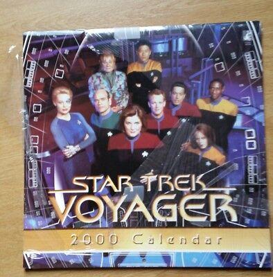 Calendar, new and sealed Star Trek Voyager 2000