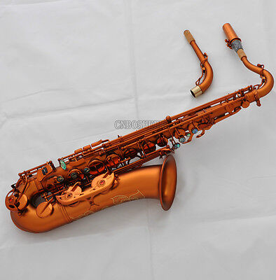 Used, 2018 New Professioanl C Melody Saxophone Matt Coffee Sax High F# Abalone Keys for sale  Shipping to Canada