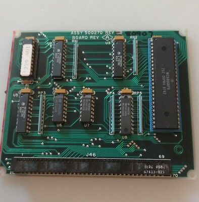Beckman Coulter  Scintillation Counter Ls-1701 Circuit Board Assy 500270 Rev A