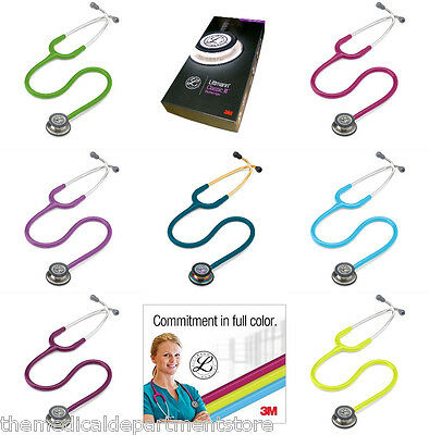 3m Littmann Classic Iii Se Stethoscope 24 Colors -free Gift Included 20 Value