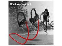 Bluetooth Headphones IP4 Waterproof Sports Earbuds