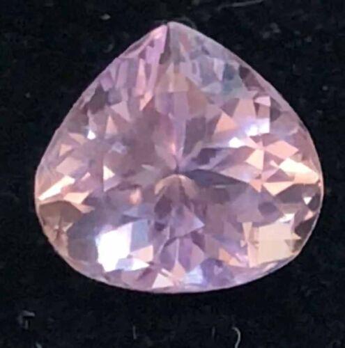 5.57 Cts Natural Pear Pink Patroke Kunzite