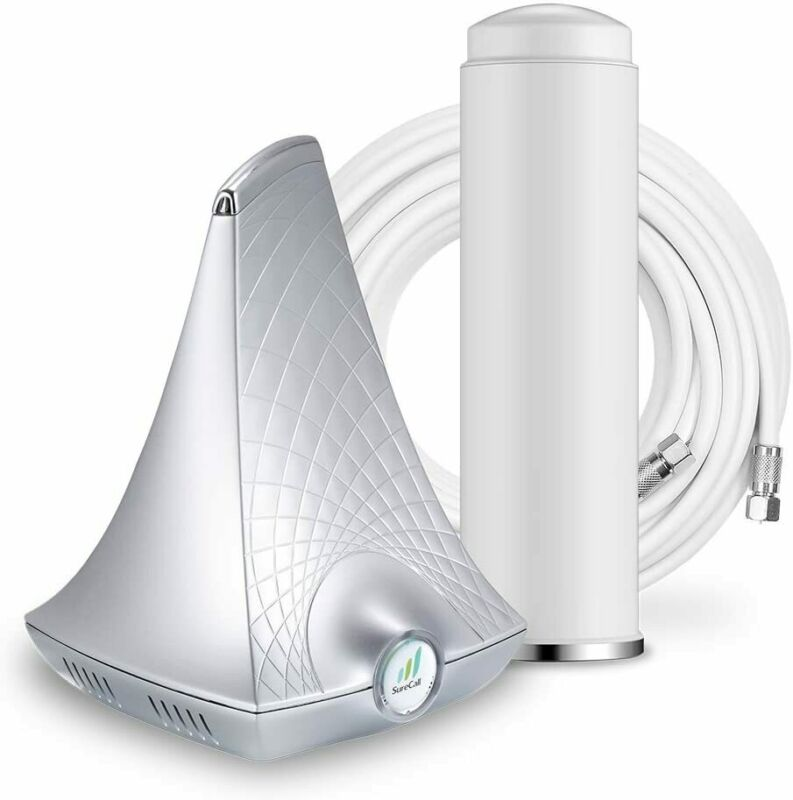 SureCall Flare Cell Phone Signal Booster Kit for Working from Home | Integrated