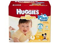 Huggies Little Movers SIZE 2 - 174 Pack