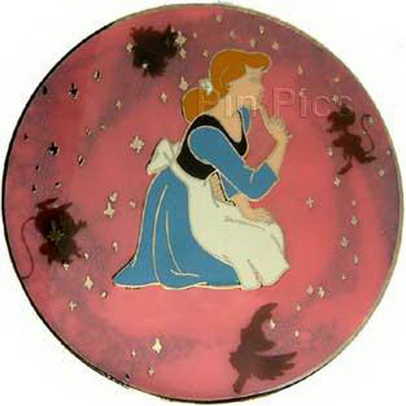 Cinderella Rags to Royal with Mice & Birds Authentic Disney LE Pin