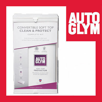 Autoglym Convertible Fabric Hood Cleaner Soft top Clean & Protect Kit