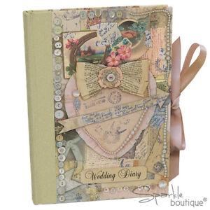 VINTAGE WEDDING DIARY - Planner/Planning Book/Journal/Organiser/Engagement Gift