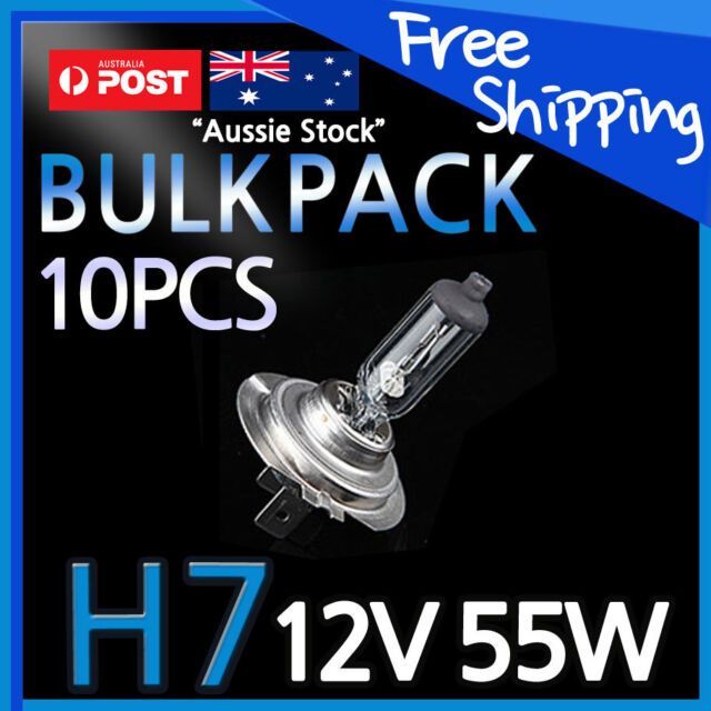 H7 Halogen Light Bulbs Headlight Globes 12V 55W Yellow Warm White CAR NEW 10 PCS