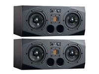 Adam A77X near/midfield monitors - brilliant sound, great bass/mid response with wonderful clarity