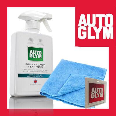 Interior Cleaner & Sanitiser 500ml from Autoglym