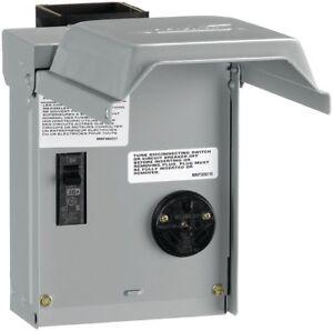 Rv hook up 30 amp outlet