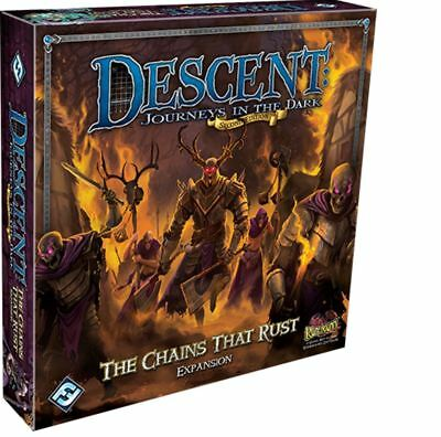 Descent 2nd Edition - The Chains that Rust Expansion
