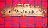G.W.Justice Store established 1888