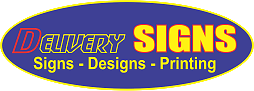 Delivery Signs