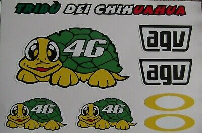 "Rossi /""THE DOCTOR/"" Turtle Sticker 2013"