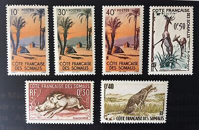 French Somali Coast Mint Stamps