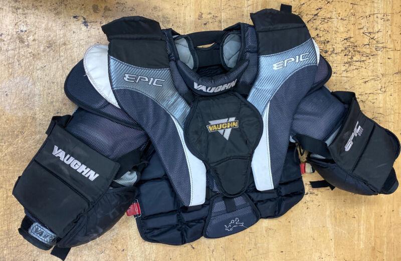 VAUGHN EPIC 8000 GOALIE CHEST AND ARM PROTECTOR shoulder pads Senior Medium