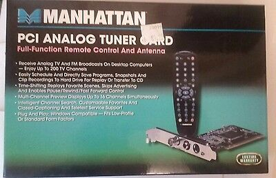 (PCI Analog TV Tuner Card)
